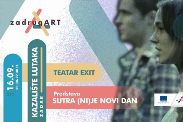 """U sklopu """"Punog rujna kulture"""" u Zadru gostuje Teatar EXIT"""