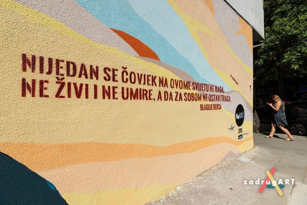 Mural u Ul. S. Radića