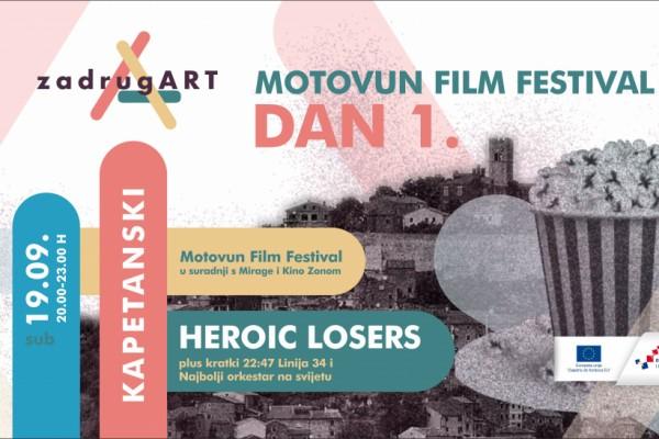 Filmske čarolije s motovunskog  brda doputovale u Zadar